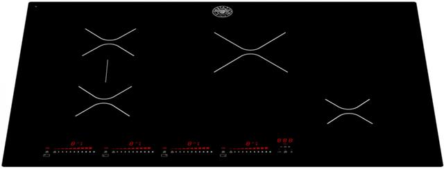 "Bertazzoni Professional Series 30"" Black Induction Cooktop-P304IAE"