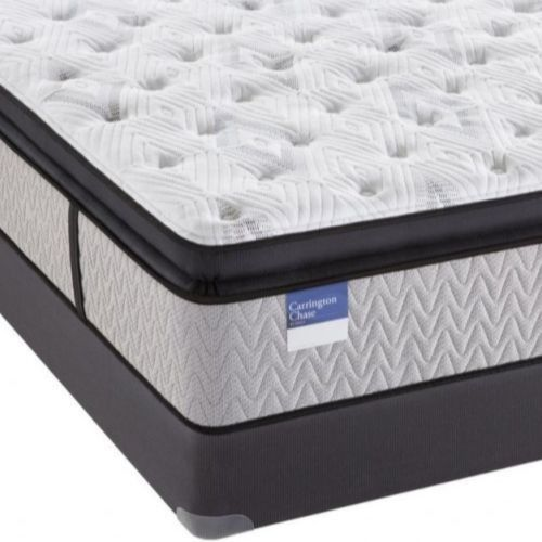 Carrington Chase by Sealy® Tattersall Pillow Top Hybrid Plush Queen Mattress-TattersallP-Q