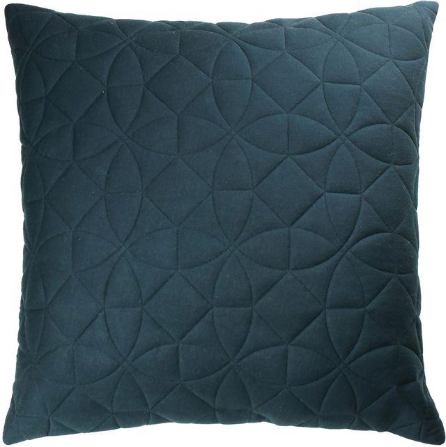 Coussin décoratif Roda, marine & gris froid, Renwil®-PWFL1217