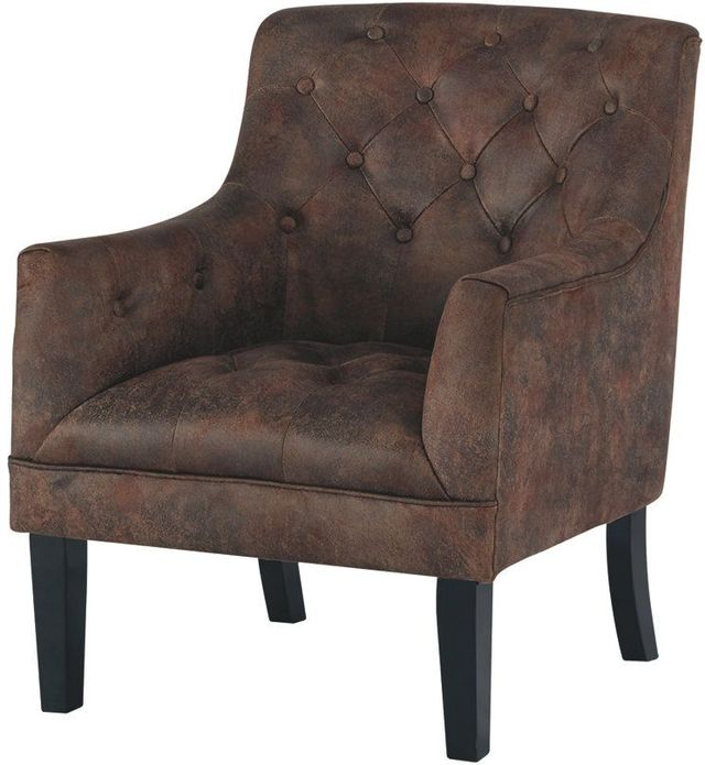 Signature Design by Ashley® Drakelle Mahogany Accent Chair-A3000051