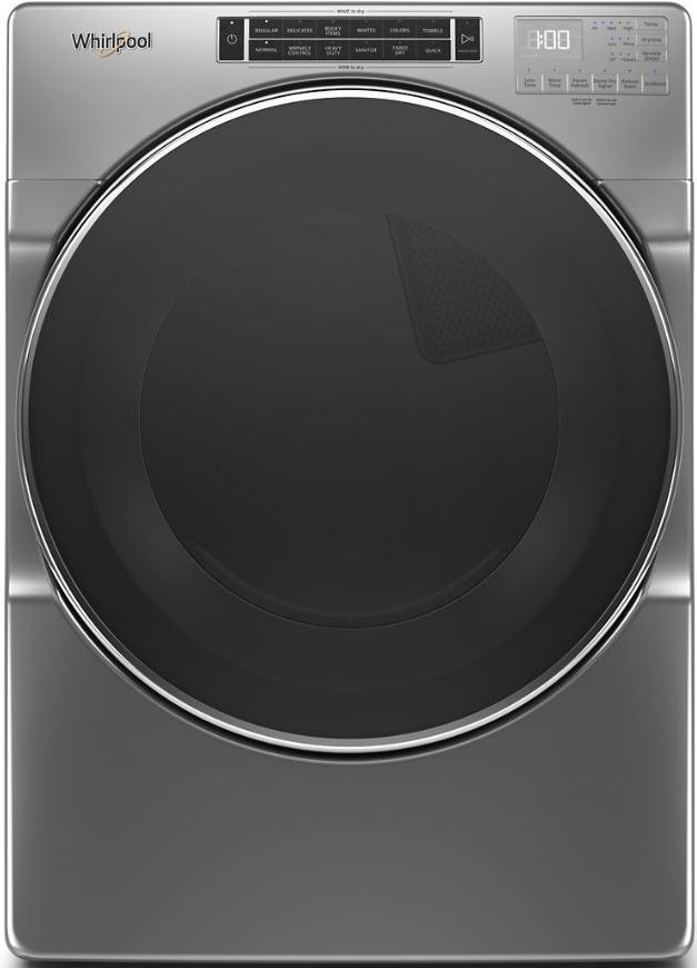 Whirlpool® 7.4 Chrome Shadow Front Load Electric Dryer-WED8620HC