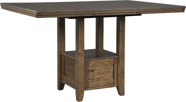 Benchcraft® Flaybern Brown Rectangular Dining Room Counter Extension Table-D595-42