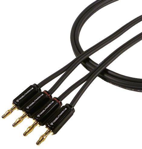 Tributaries® 8' Series 4 Banana Siamese Speaker Cable-4SP14-B-080
