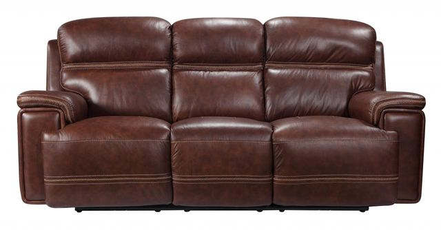 Leather Italia USA™ Shae Fresno Brown Power Reclining Sofa-1555-EH2394-031004LV