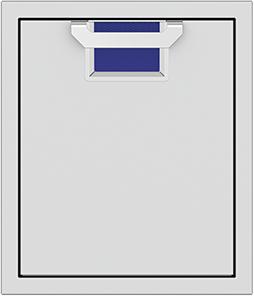 """Aspire By Hestan AEAD Series 18"""" Prince Single Access Door-AEADL18-BU"""
