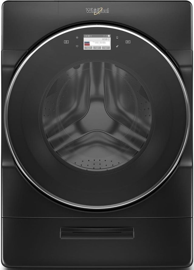 Whirlpool® 5.0 Cu. Ft. Black Shadow Front Load Washer-WFW9620HBK