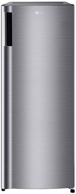 LG 5.8 Cu. Ft. Platinum Silver Single Door Freezer Refrigerator-LROFC0605V