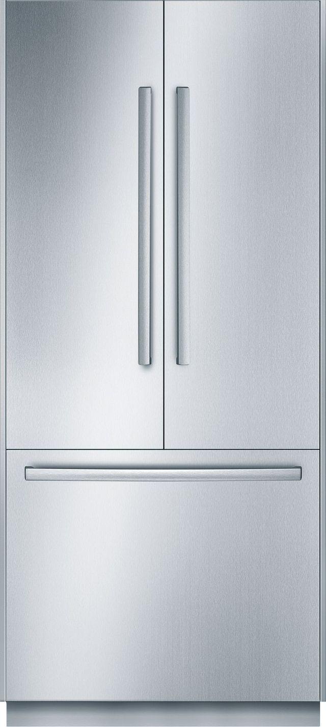 Bosch Benchmark® Series 19.5 Cu. Ft. Stainless Steel French Door Refrigerator-B36BT830NS