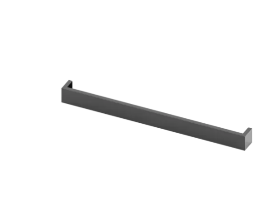 "Bosh 3"" Black Stainless Rear Vent Trim Extension-HEZ8ZZ30UC"