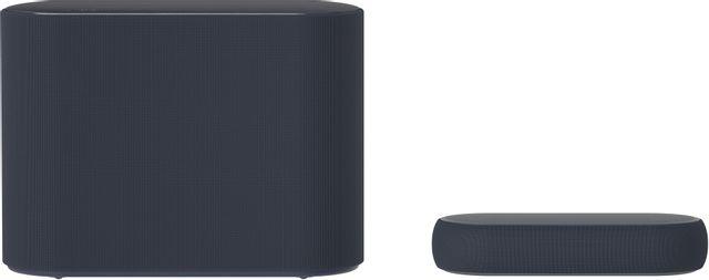 LG Eclair QP5 3.1.2 Ch Black Dolby Atmos Compact Sound Bar-QP5