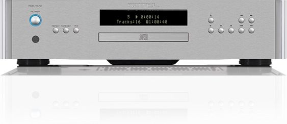 Rotel® 15 Series Silver CD Player-RCD-1572-SV