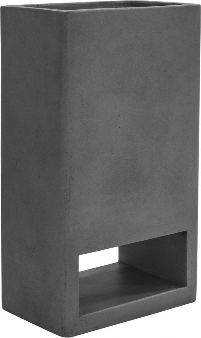 Moe's Home Collections Bristol Concrete Grey Planter-BQ-1049-25