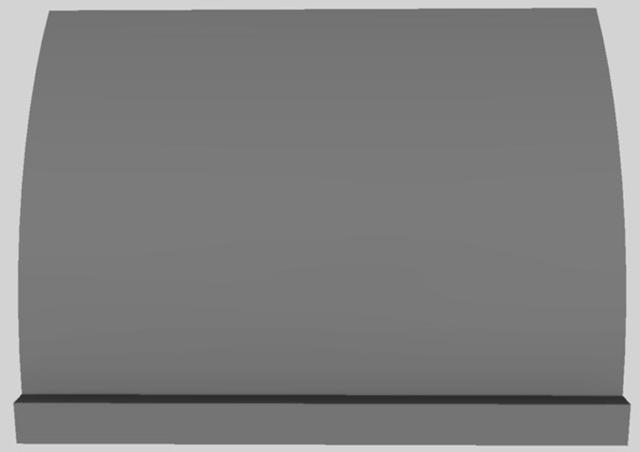 "Vent-A-Hood® 42"" Wall Mounted Range Hood-Gunsmoke-CXH30-142 GS"