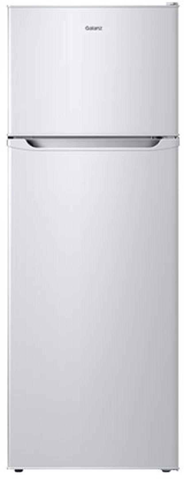 Galanz 12 Cu Ft. White Top Freezer Refrigerator-GLR12TWEF