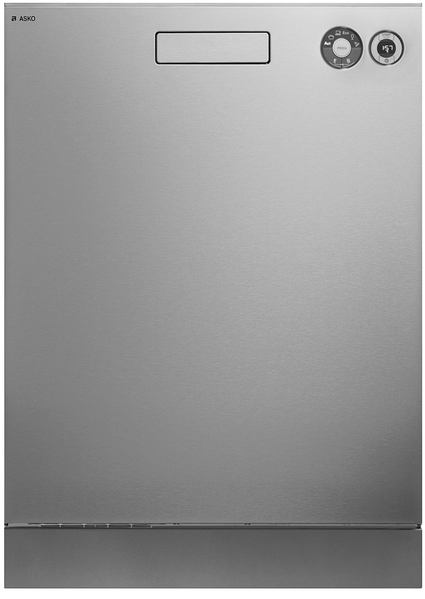 """ASKO Front Control 24"""" Built In Dishwasher-Stainless Steel-D5436XLS"""