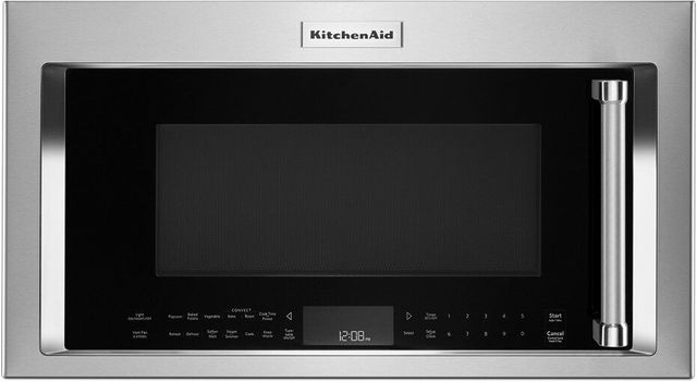 "KitchenAid® 29.88"" Fingerprint Resistant Stainless Steel Over The Range Microwave-KMHC319KPS"