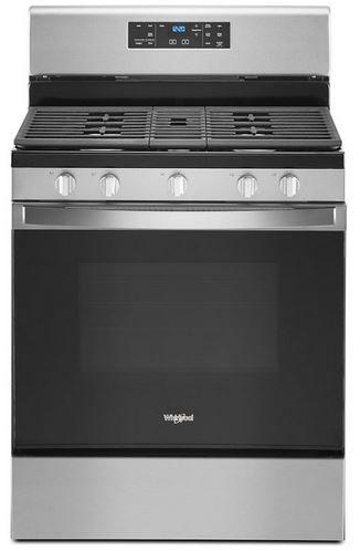 "Whirlpool® 30"" Fingerprint Resistant Stainless Steel Free Standing Gas Range-WFG525S0JZ"