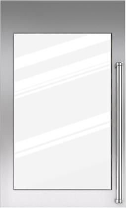 """Sub-Zero® 30"""" Integrated Stainless Steel Tall Wine Storage Door Panel with Pro Handle and Lock-7025355"""