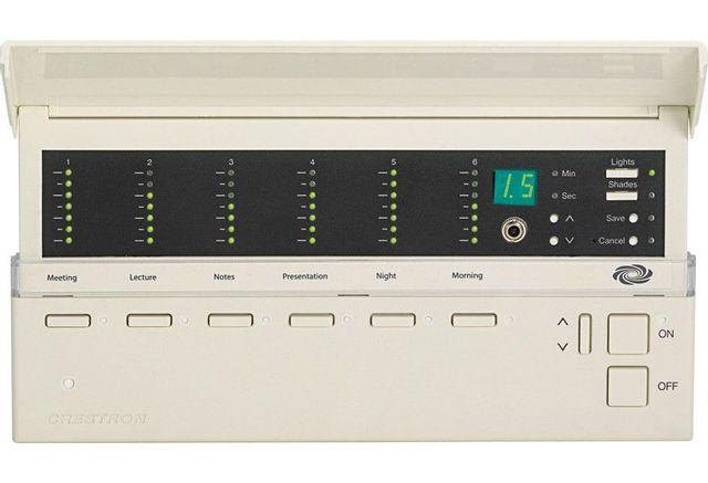 Crestron® iLux Integrated International Version Lighting System-White-CLSI-C6RFW