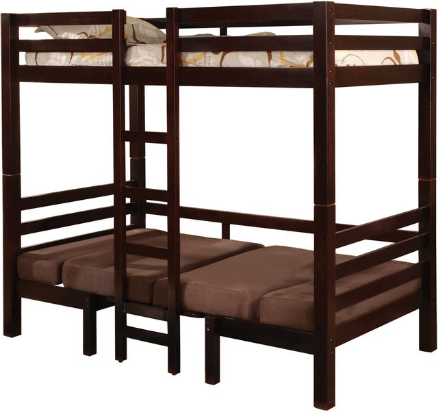 Coaster®Joaquin Youth Medium Brown Twin-Over-Twin Bunk Bed-460263