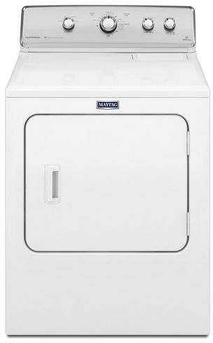 Maytag® Centennial® 7.0 Cu. Ft White Front Load Electric Dryer-YMEDC555DW