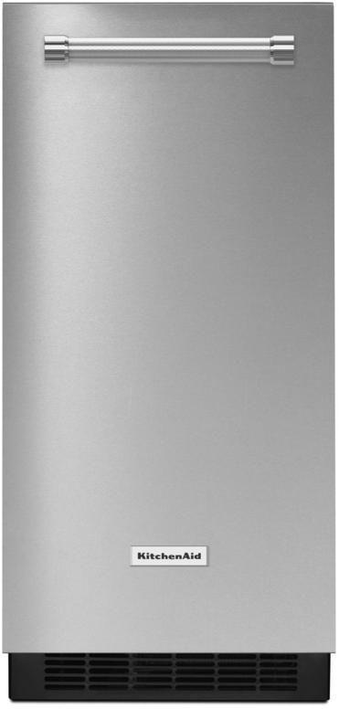 "KitchenAid® 14.70"" Stainless Steel with PrintShield™ Finish Automatic Ice Maker-KUIX535HPS"