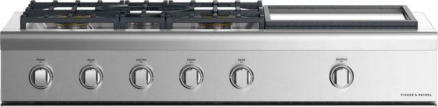 "Fisher Paykel Professional 48"" Gas Rangetop-Stainless Steel-CPV2-485GDN N-CPV2-485GDN N"