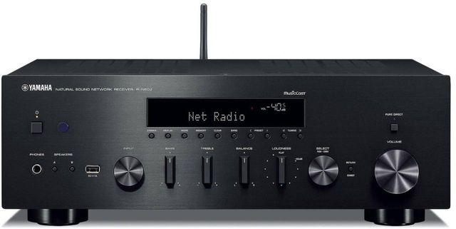 Yamaha® Network Hi-Fi Receiver-R-N602BL