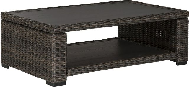 Signature Design by Ashley® Grasson Lane Brown Rectangular Cocktail Table-P783-701