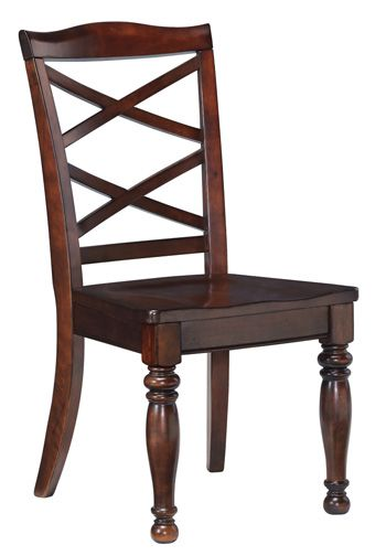 Millennium® By Ashley Porter Rustic Brown Dining Room Side Chair-D697-01