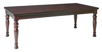 Millennium® By Ashley Porter Rustic Brown Rectangular Dining Room Extension Table-D697-35