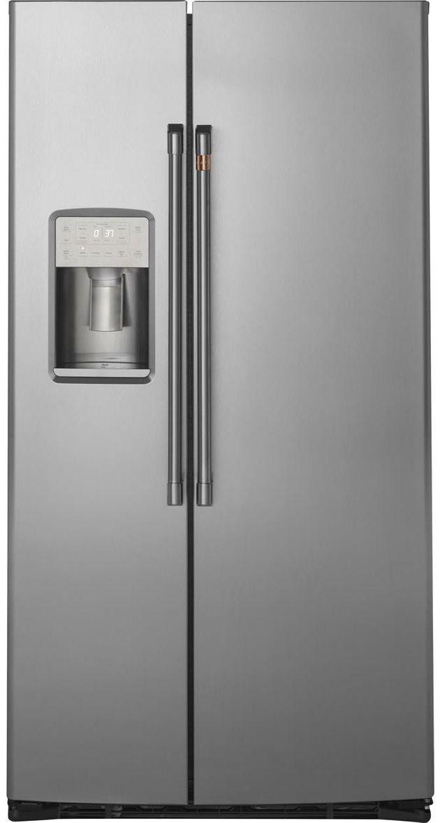 Réfrigérateur côte-à-côte à profondeur de comptoir de 36 po Cafe™ de 21,9 pi³ - Acier inoxydable-CZS22MP2NS1