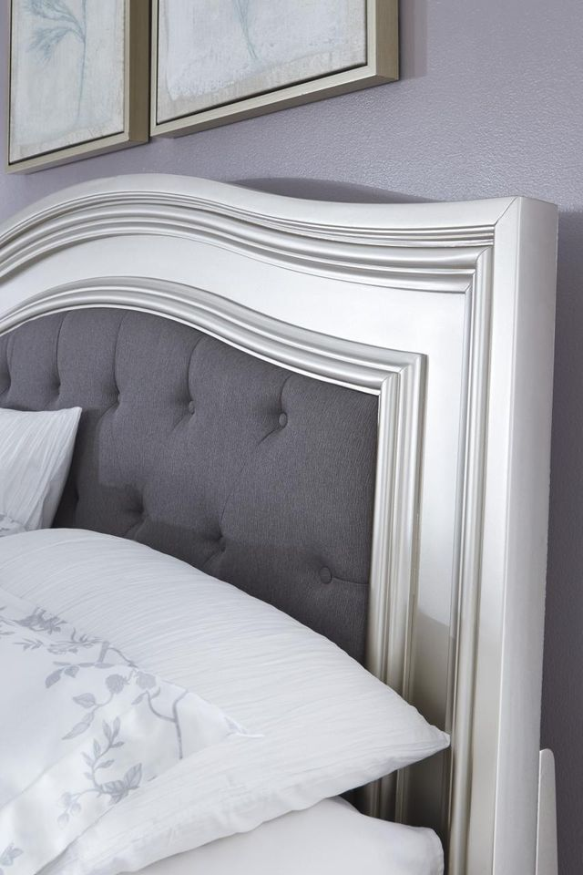 Signature Design By Ashley® Coralayne Silver Queen Upholstered Panel Headboard-B650-157