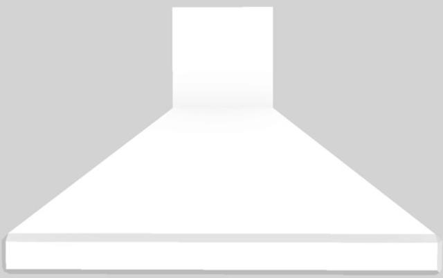 "Vent-A-Hood® 48"" Euro-Style Island Range Hood-White-ISDH18-248 WH"