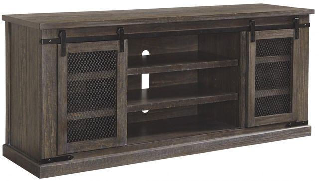 """Signature Design by Ashley® Danell Ridge Brown 70"""" TV Stand-W556-68"""