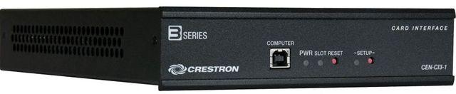 Crestron® 3-Series® Card Interface – 1 Slot-CEN-CI3-1-POE