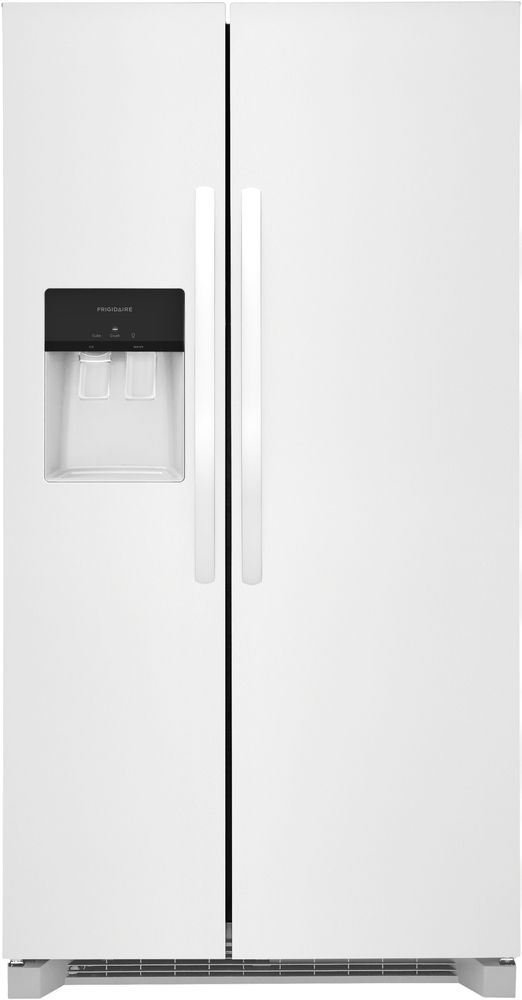 Frigidaire® 25.6 Cu. Ft. White Side-by-Side Refrigerator-FRSS2623AW