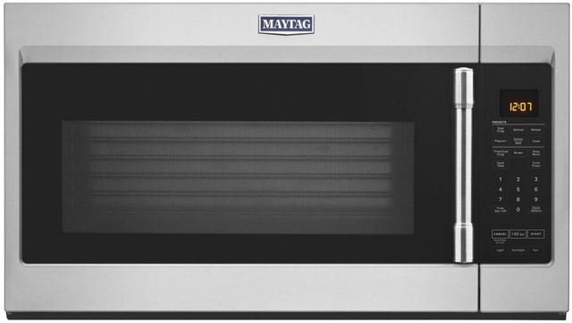 Maytag® 1.9 Cu. Ft. Fingerprint Resistant Stainless Steel Over The Range Microwave-MMV5227JZ