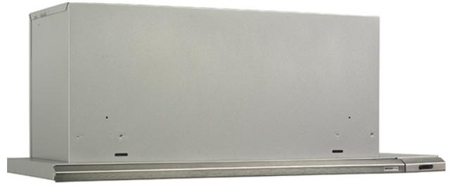"""Broan® Elite Silhouette® 36"""" Brushed Aluminum Insert Range Hood-153604N"""