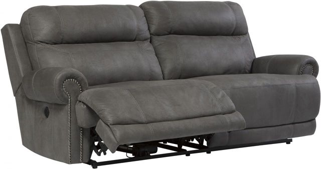 Signature Design by Ashley® Austere Gray 2 Seat Reclining Power Sofa-3840147