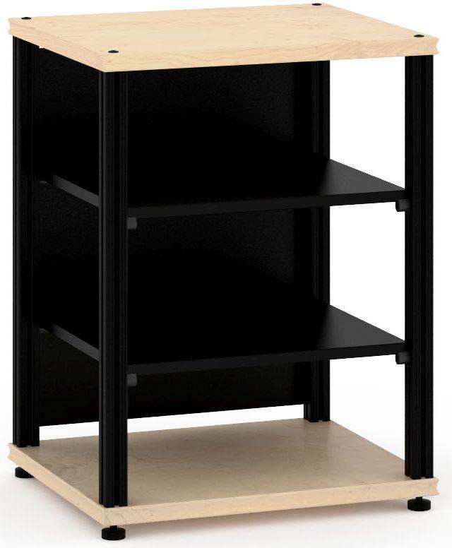 Salamander Designs® Synergy Single 30 AV Cabinet-Natural Maple/Black-SU30M/B