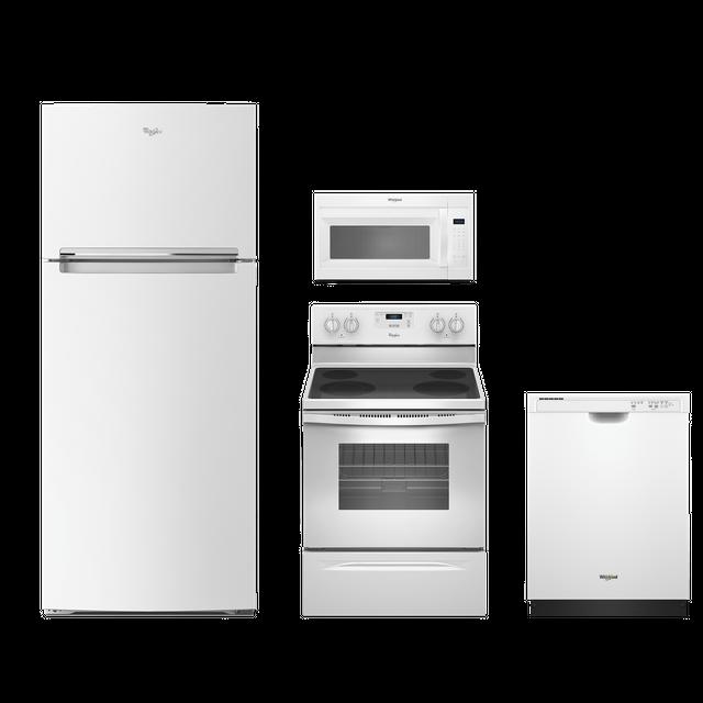 Whirlpool® 4 Piece Kitchen Package-White-WHKITWFE320M0EW