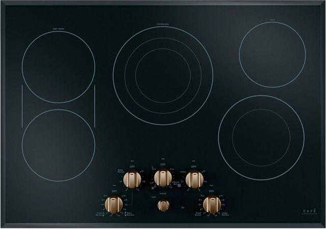 """Café™ 30"""" Black Electric Cooktop-CEP70303MS2"""