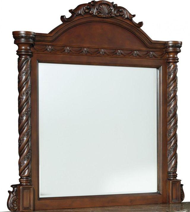 Millennium® By Ashley North Shore Dark Brown Bedroom Mirror-B553-36