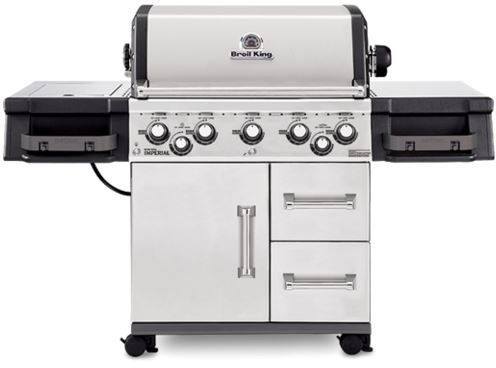 """Broil King® Imperial™ 590 Series 24.8"""" Stainless Steel Freestanding Grill-958887"""