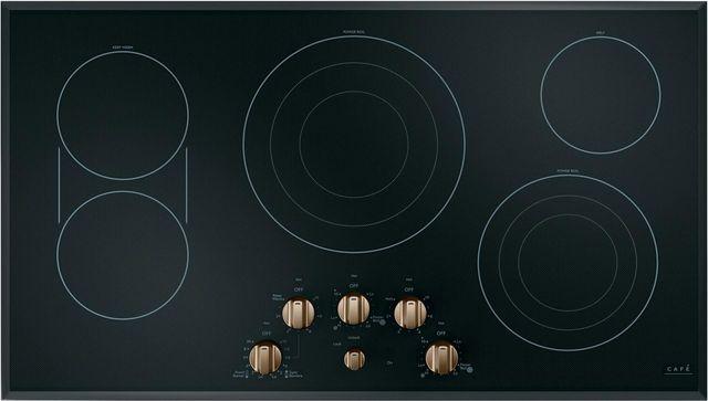 """Café™ 36"""" Black Electric Cooktop-CEP70363MS2"""
