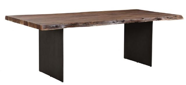 Table à manger rectangulaire Howell, brun, Moe's Home Collections®-VE-1084-03