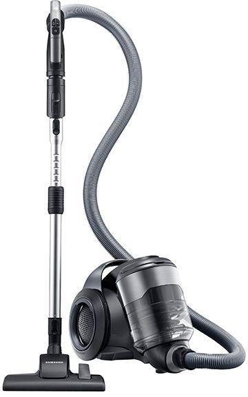 Samsung VC-F700G Motion Sync Bagless Canister Vacuum-Titanium Silver-VC12F70HNKC
