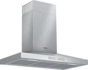 """Bosch 500 Series 36"""" Stainless Steel Pyramid Canopy Chimney Hood-HCP56652UC"""