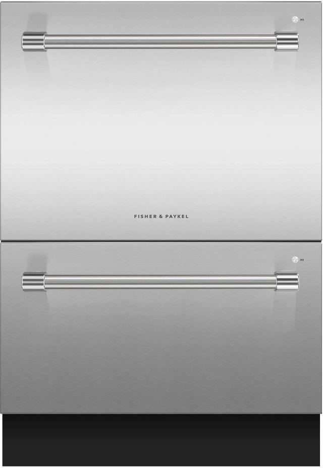 Lave-vaisselle tiroir Fisher Paykel® de 24 po - Acier inoxydable-DD24DV2T9 N